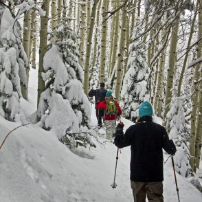 Park City snowshoe tour