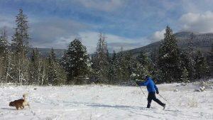 Cross country skiing, Park City, UT