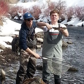 Winter Fly Fishing Park City