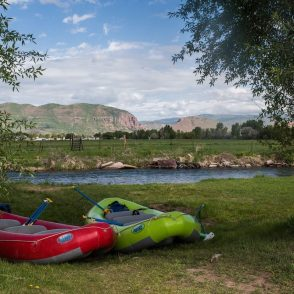 white water rafting on AIRE rafts, Park City Utah