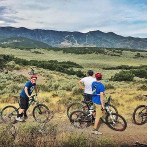 guided mountain biking park city