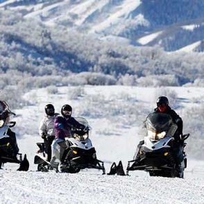 snowmobiling wasatch mountains