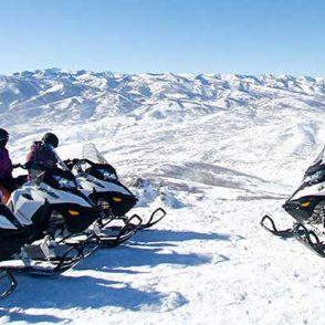 park city snowmobile tours