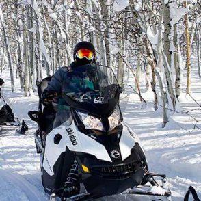 snowmobile tours park city