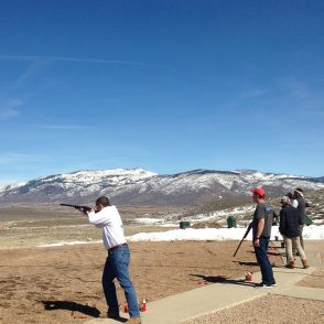 Winter Trap Shooting Park City
