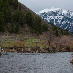 winter fly fishing utah