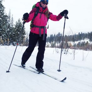 XC Skiing Uinta National Forest