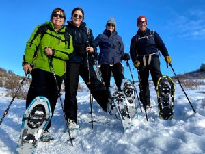 Wasatch Mountains Snowshoeing
