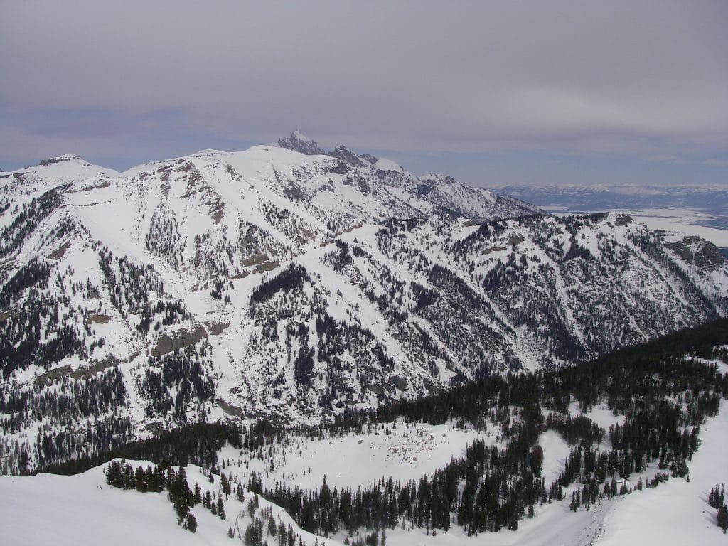 winter in the Wasatch