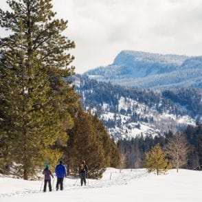 Guided cross country skiing in Park City