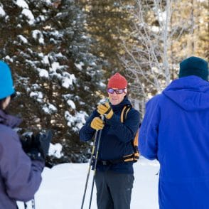 Guide explains cross country skiing techniques