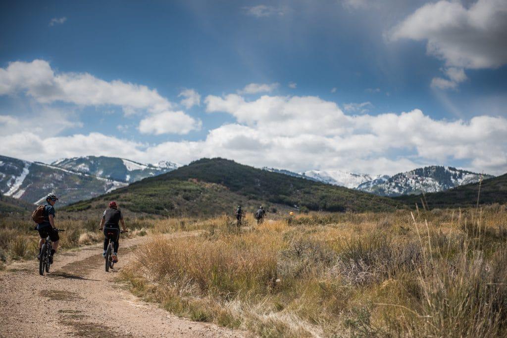 Mountain biking Park City, Utah