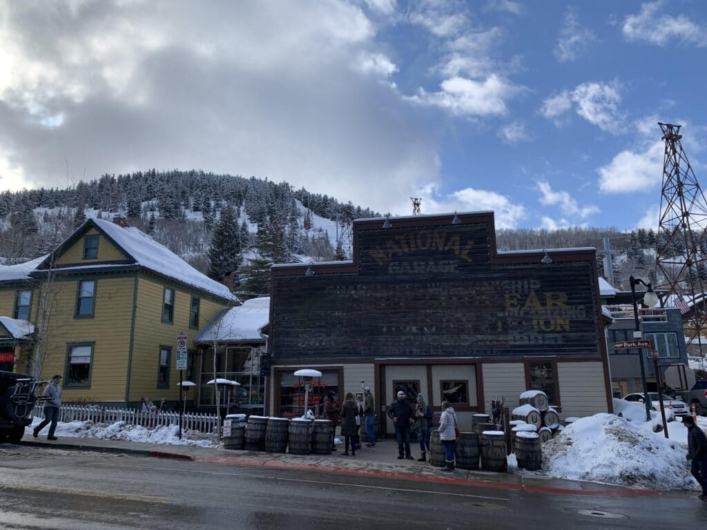Outdoor Dining on Main Street Park City
