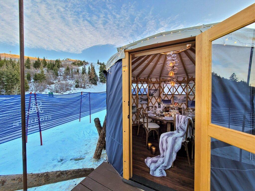 St. Regis Yurt Apres Ski
