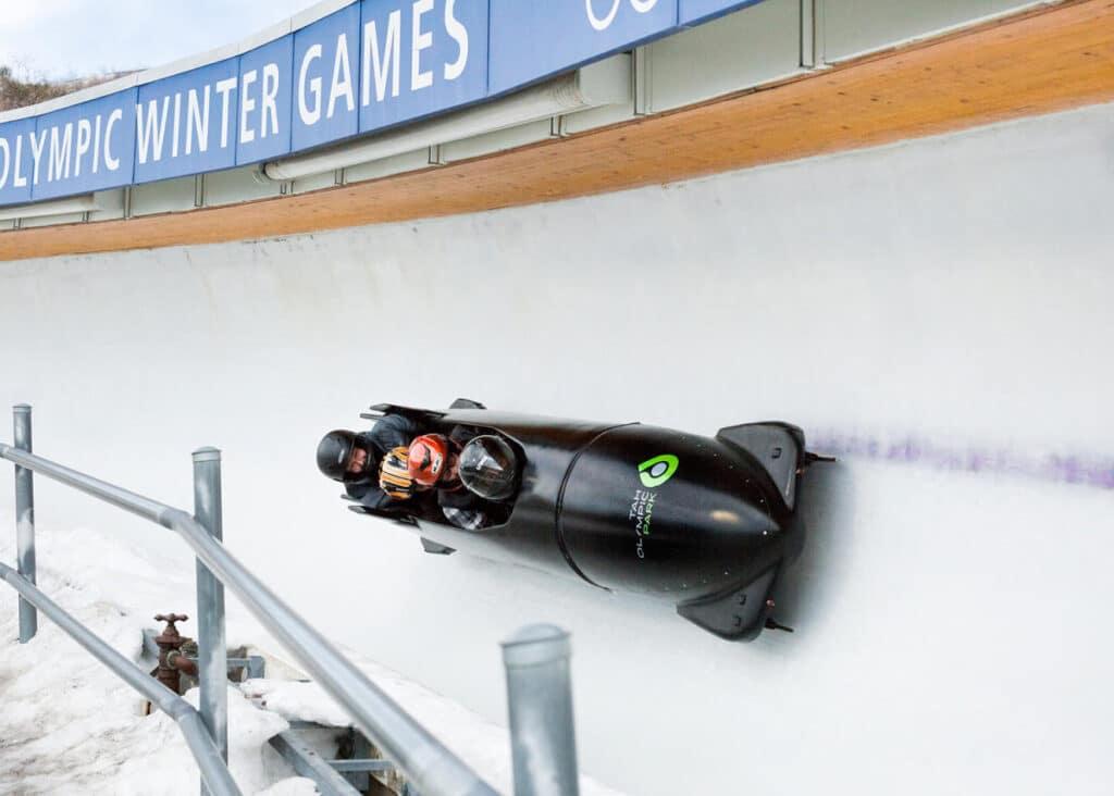 Utah Olympic Park Bobsledding