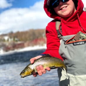 park city winter fly fishing