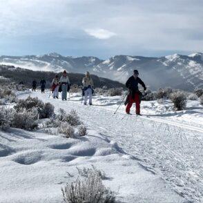 cross country skiing Park City Utah