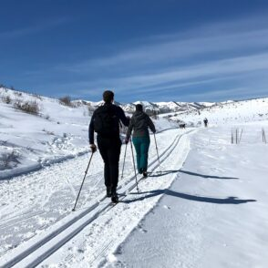 guided cross country skiing