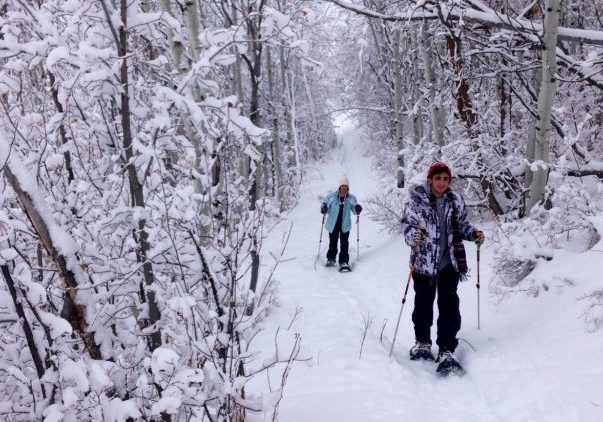 All Seasons Adventures snowshoe tour