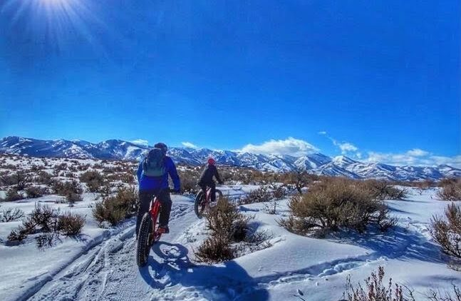 Fat Tire Biking Round Valley