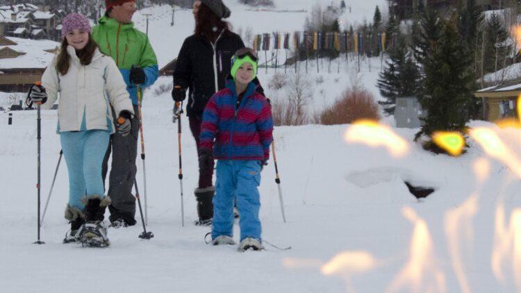 Apres Ski Smores Snowshoe