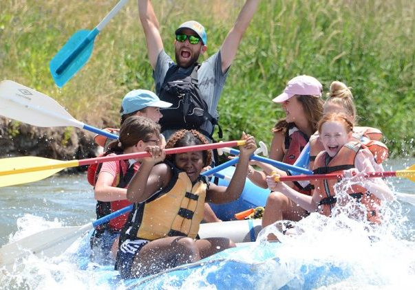 action-rafting