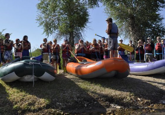 Rafting in Utah